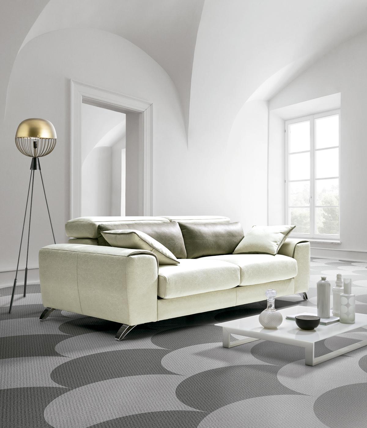 Sofa de dos plazas modelo detroy deslizable 1 76 m cocinas moduvalkit - Sofas de dos plazas ...