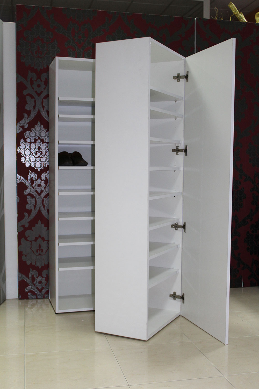 Mueble zapatero blanco opcion espejo cocinas moduvalkit for Mueble zapatero blanco